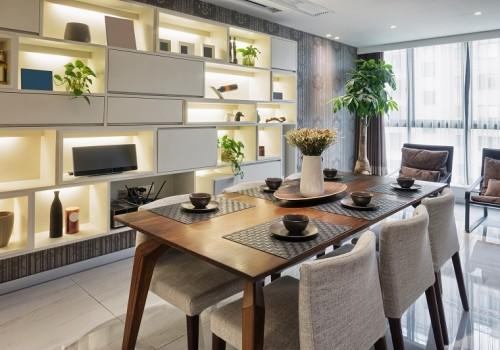 luxury dinning room interior
