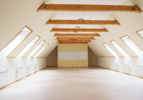 big empty light room
